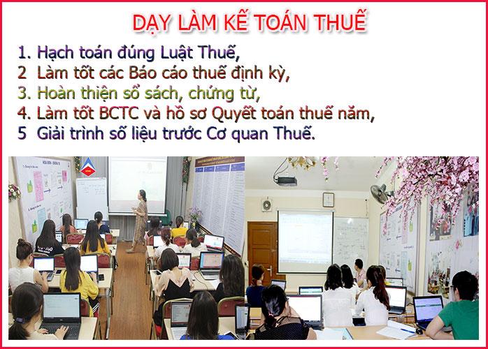 Trung tâm dạy kế toán tại Ba Đình Hà Nội